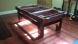 Correctly performing pool table installations, Kenosha Wisconsin